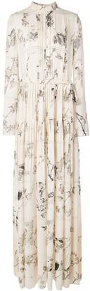 Oscar de la Renta Lovebird shirt dress