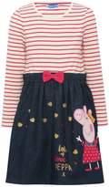 M&Co Peppa Pig stripe dress