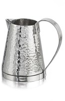 Michael Aram 'Rivet' Hammered Stainless Steel Pitcher