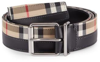 Burberry Mack 35 Vintage Check Belt