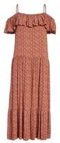 Rebecca Minkoff Women's Lapaz Off The Shoulder Midi Dress