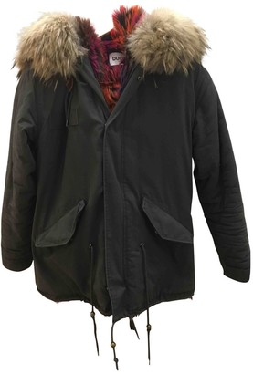 Ducie Green Cotton Jacket for Women