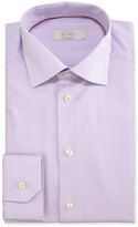 Eton Contemporary-Fit Striped Dress Shirt, Pink/Blue