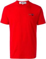 Comme des Garcons embroidered logo T-shirt - men - Cotton - S