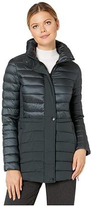 Bernardo Fashions EcoPlume Commuter Packable Jacket (Dark Jade Green) Women's Jacket