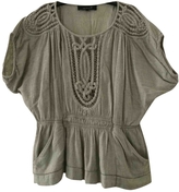 Isabel Marant Green Silk Top