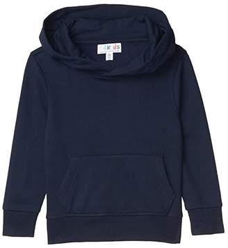#4kids Essential Pullover Hoodie (Little Kids/Big Kids) (Navy) Kid's Clothing