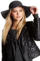 David & Young Studded Band Wool Felt Floppy Hat
