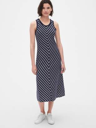 Gap Soft Slub Tank Midi Dress