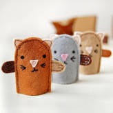 Your Own Clara and Macy Make Kitten Finger Puppets Craft Kit