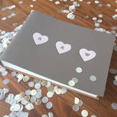 Undercover Small Recyled Leather Valentine's Photo Album