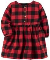 Carter's Baby Girl Buffalo Checkered Dress
