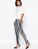 Vero Moda Vero Mod Stripe Tailored Peg Pant