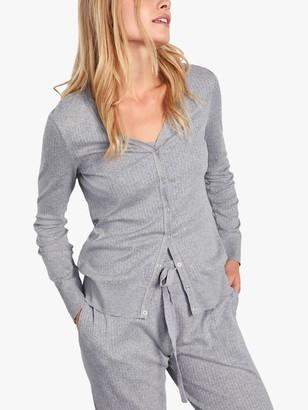 Jigsaw Jersey Cardigan, Grey