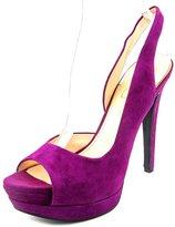 Jessica Simpson Sabella Women US 7.5 Purple Platform Heel