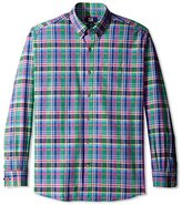 Cutter & Buck Men's Long Sleeve Richmond Plaid Shirt