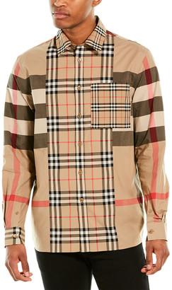 Burberry Check Poplin Shirt