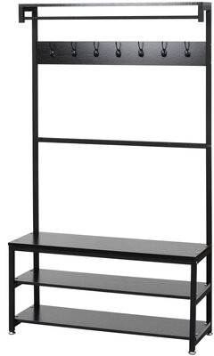 Rebrilliant Pennebaker Hall Tree with Bench and Shoe Storage