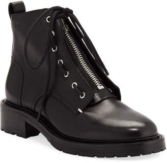 Rag & Bone Cannon Front-Zip Ankle Boots