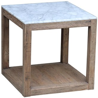 Emac & Lawton Jermaine Marble Side Table