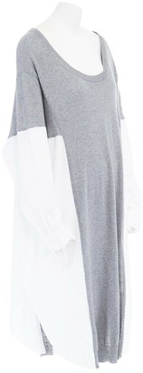 Limi Feu Grey Cotton Dress for Women