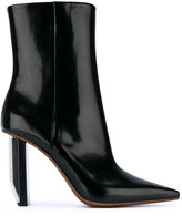 Vetements Reflector Heel Ankle Boots