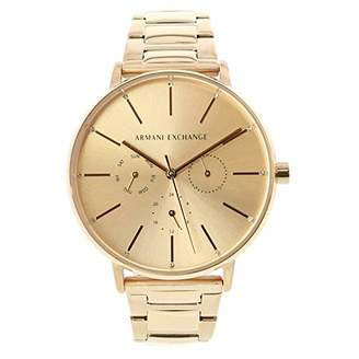 Armani Exchange Women's Lola Analog-Quartz Watch with Stainless-Steel-Plated Strap