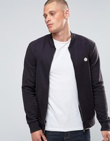 Le Breve Bomber Sweat Zip Through