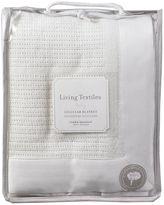 Living Textiles Essentials Cellular Bassinet Blanket, WhiteO