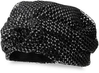 Maison Michel Hiromi sequin turban