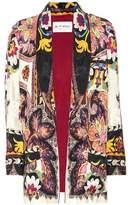 Etro Printed silk-blend cardigan