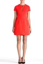 Diane von Furstenberg Agatha Dress In Redstone