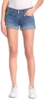 Hudson Ruby Mid Thigh Denim Shorts