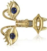 Bernard Delettrez Osvaldo Bronze Cuff Bracelet