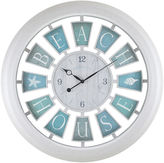 Asstd National Brand FirsTime Beach House Wall Clock