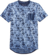American Rag Men's Vintage Floral Knit T-Shirt, Only At Macy's