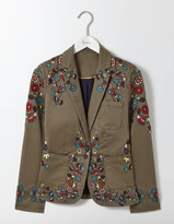 Boden Florence Embroidered Blazer