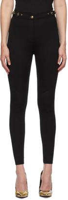 Versace Black Seasonal Details Trousers