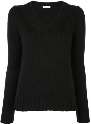 P.A.R.O.S.H. V-neck wool jumper