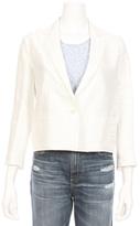 CLOTH AND STEEL Wren Ruffle Linen Blazer