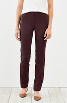 J. Jill Ponte Knit Slim-Leg Pants