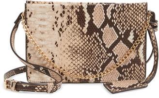 Sole Society Gigi Faux Leather Crossbody Bag
