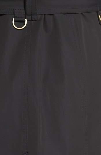 London Fog Women's Hooded Single Breasted Long Trench Coat