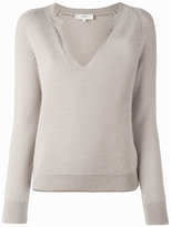 Vanessa Bruno knitted V-Neck top - women - Alpaca - S
