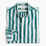J.Crew Slim Secret Wash shirt in thick stripe