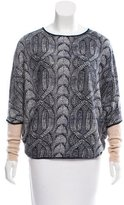 Yigal Azrouel Cashmere Patterned Sweater