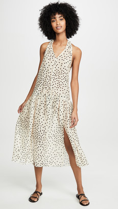 Stella McCartney Polka Dot Maxi Dress