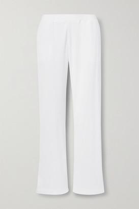 Skin Lenai Textured-pima Cotton Pajama Pants - White
