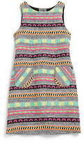 Milly Minis Girl's Aztec Shift Dress