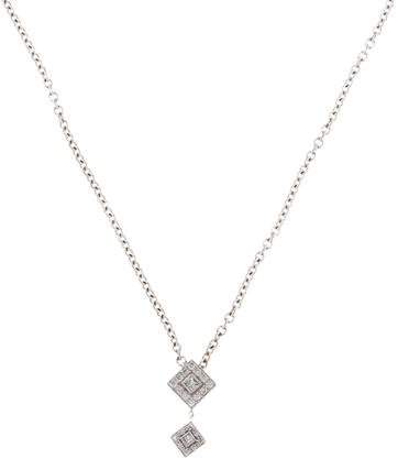Charriol 18K Diamond Pendant Necklace